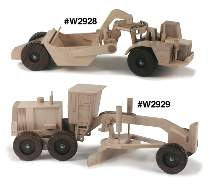 Wooden Construction Equipment Plans by Cornerstone Designs