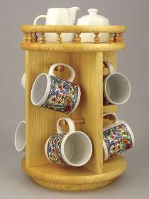 Coffee Cup Carousel Plan