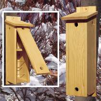 Mountain Chickadee - Woodworking Birdhouse Plans
